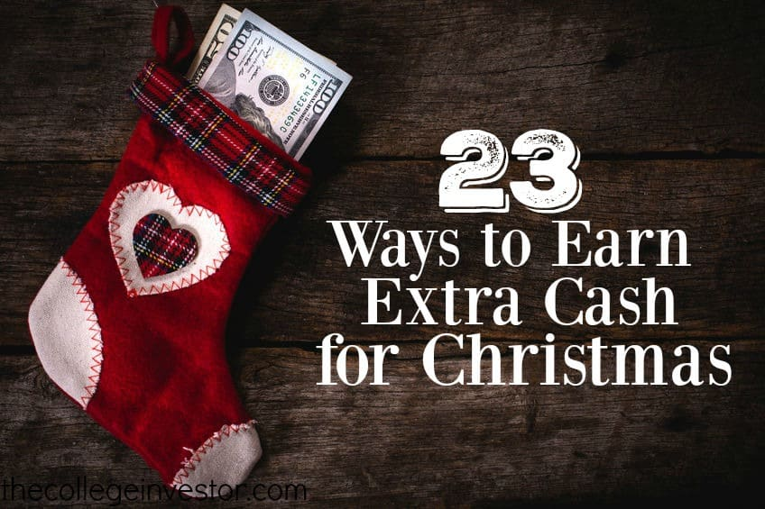 There are still a few weeks before Christmas which means you still have time to earn extra cash for Christmas shopping. Here are 23 ideas to try.