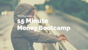15 Minute Money Bootcamp