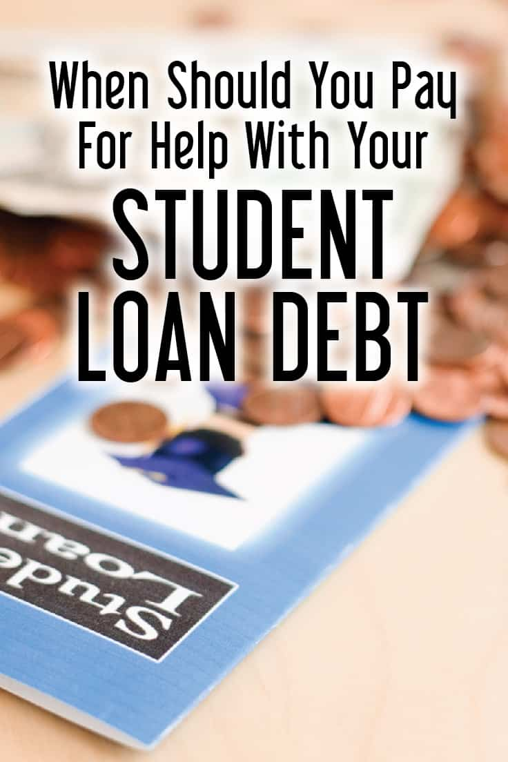 pay for help with your student loan debt