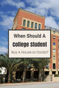 Buying a House in College