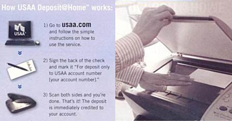 USAA Deposit at Home