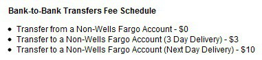 Wells Fargo Dumb Fees