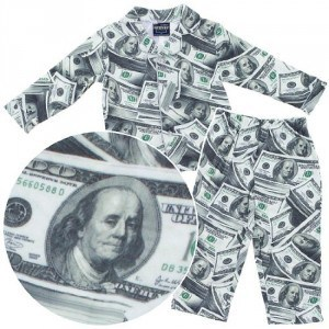 saving money pajamas