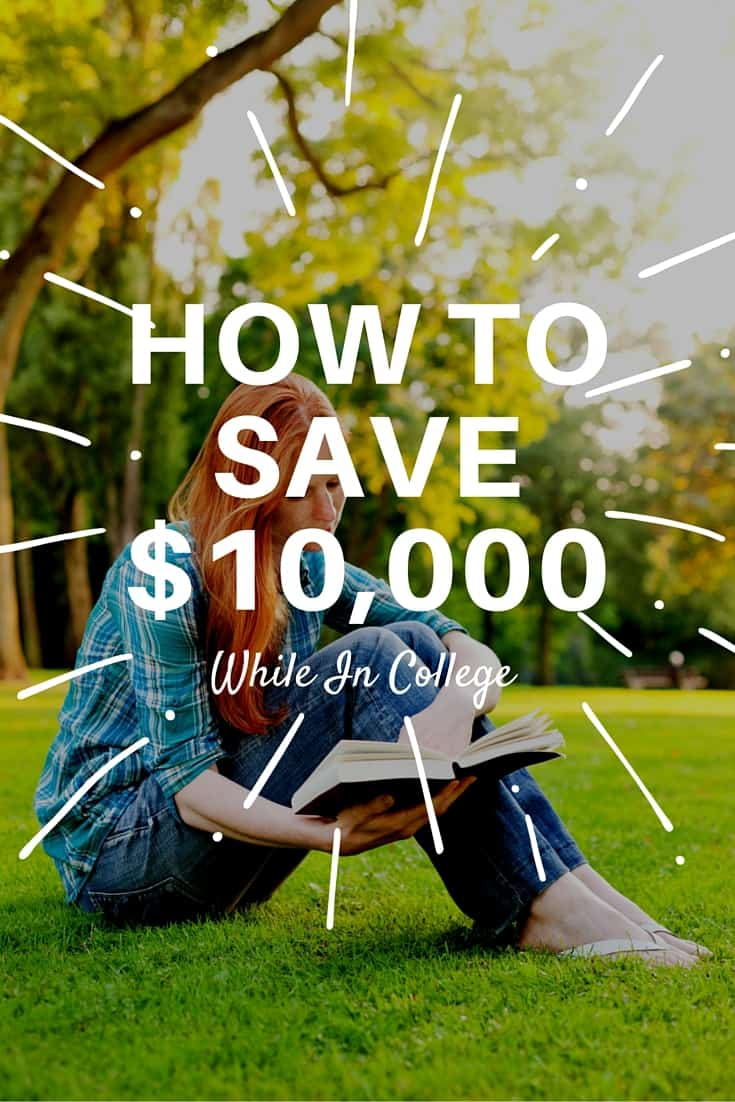 Here are twelve great tips to save money in college so you can save over $10,000 per year when you are still in school!