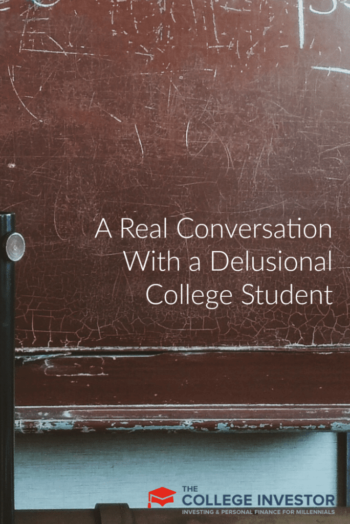 A Real Conversation With a Delusional College Student
