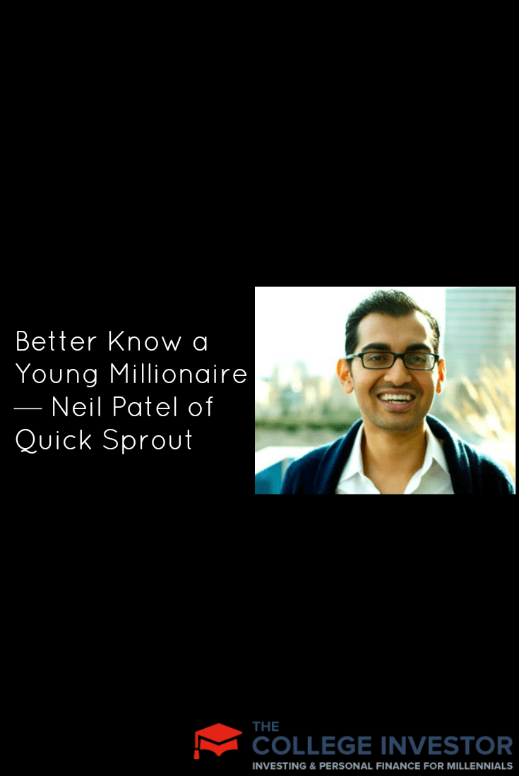 Neil Patel of Quick Sprout is participating in this week's millionaire interview, and he shares his thoughts on following your passion . . . .