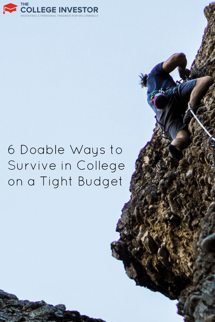 6 Doable Ways to Survive in College on a Tight Budget