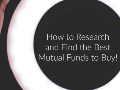 How to Research and Find the Best Mutual Funds to Buy!