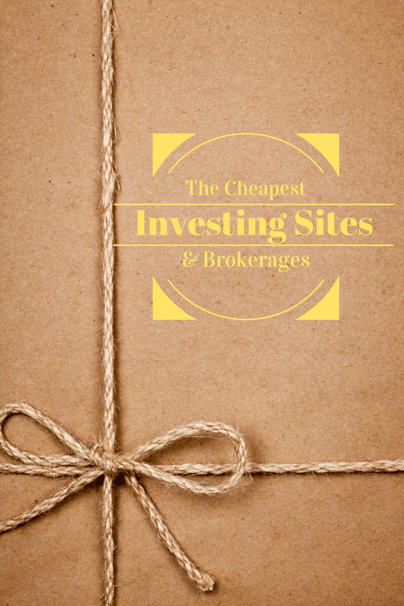 Here are the cheap investing sites that offer low commissions and special promotions to make your online broker experience top notch.