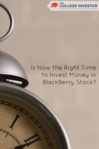 Is Now the Right Time to Invest Money in BlackBerry Stock?