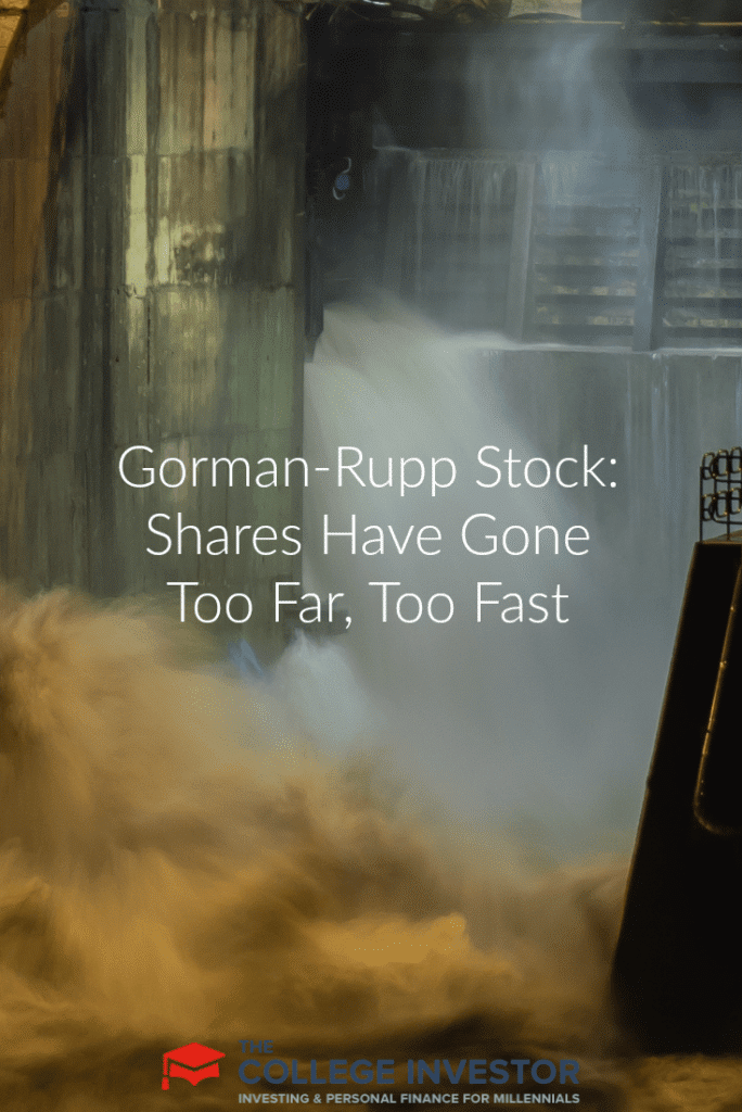 Gorman-Rupp Stock: Shares Have Gone Too Far, Too Fast
