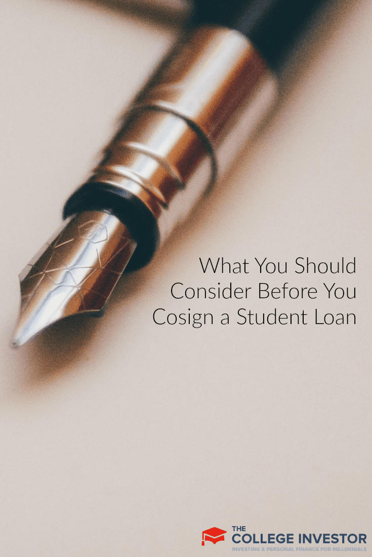 What You Should Consider Before You Cosign a Student Loan