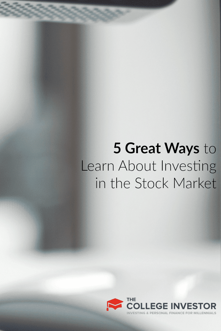 If you want to learn about investing in the stock market, here are five ways you can get started — from books to online courses on investing.