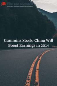 Cummins Stock: China Will Boost Earnings in 2014