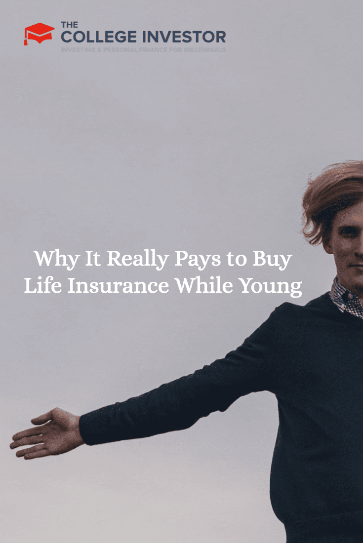 A look at why it pays to buy life insurance while young and in your first job instead of later in life when you are older. You'll save money!