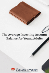 The Average Investing Account Balance for Young Adults