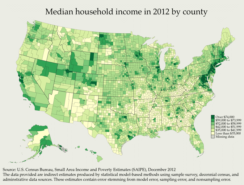 Household Income County
