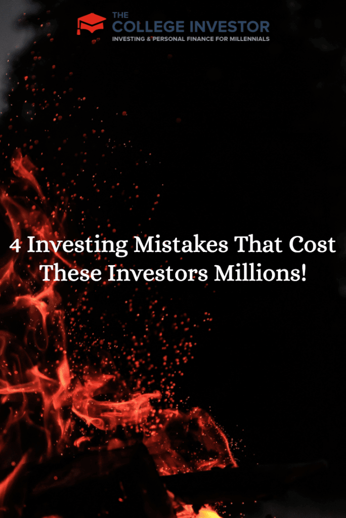 4 Investing Mistakes That Cost These Investors Millions!