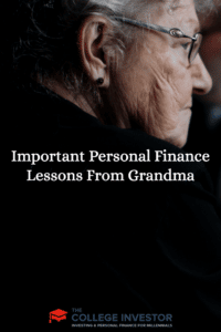 Important Personal Finance Lessons From Grandma