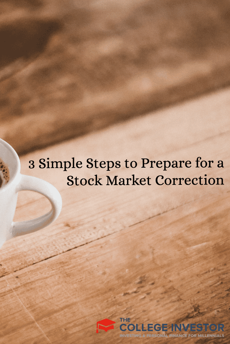 3 Simple Steps to Prepare for a Stock Market Correction Or Crash