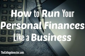 how to run your personal finances like a business