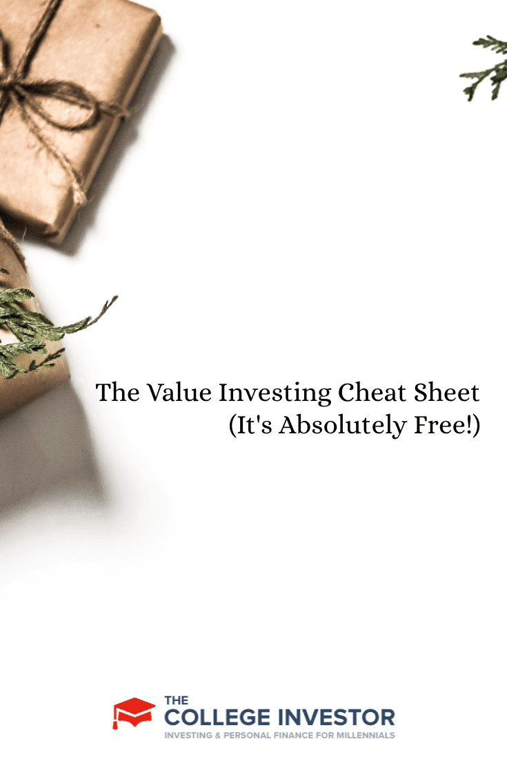 The Value Investing Cheat Sheet (It's Absolutely Free!)
