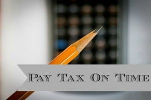 pay tax on time