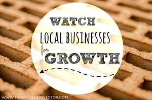 invest in local businesses