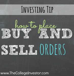Trying to get started investing on an online trading platform? Here's how to place buy and sell orders.