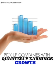 Buy Companies with Quarterly Earnings Growth