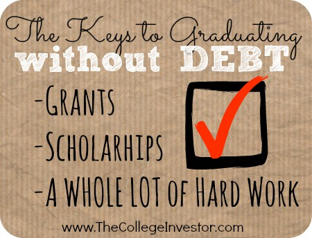 the three keys to graduating from college without debt