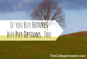 If you buy futures buy put options for protection