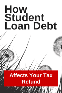 student loans affect your tax refund