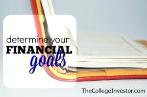 determine your financial goals