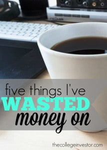 Do you find it embarrassing to look back and think of things you wasted money on? To make you feel better here are some of my biggest money blunders.