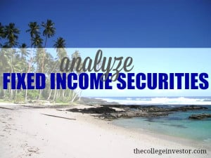 analyze fixed income securities