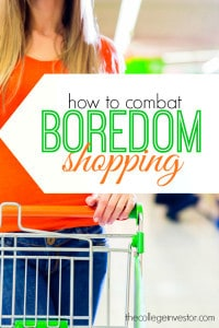 Boredom or impulse spending can completely derail your from your financial goals. Here's how you can combat boredom spending.