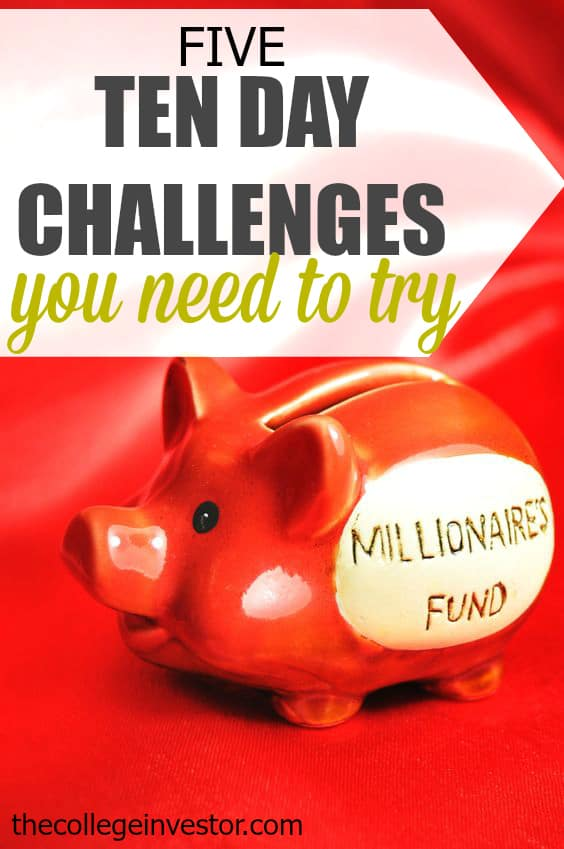 Looking to improve your finances but don't know where to start? A ten day challenge could be exactly what you need. Here are five to get you started!