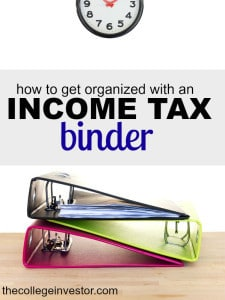 Looking for a better tax organization method? See how you can save hours of time by putting together a simple income tax binder. #BeatTheDeadline