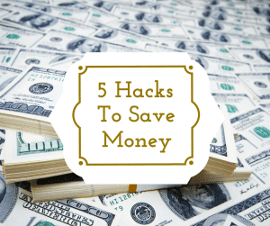 Are you looking for an easier way to trick yourself into saving? Here are five money hacks that will put more money in your savings account.