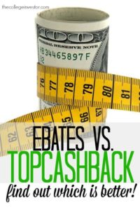 We tested Ebates vs TopCashback and found one clear winner. I think you might be surprised which one!