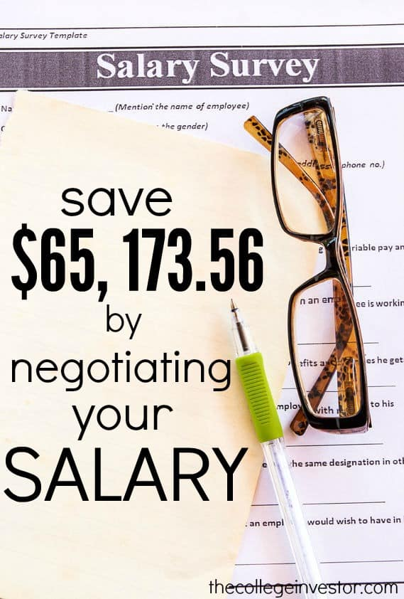 Did you know that failing to negotiate your first salary will cost you $65,173.56! Don't leave that money on the table. Try these proven negotiation strategies instead.
