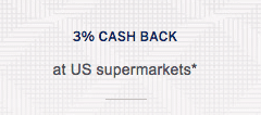 3% Cash Back At Grocery Stores