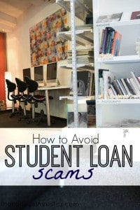 How to avoid student loan scams and not pay $100s to get help with your student loan debt.