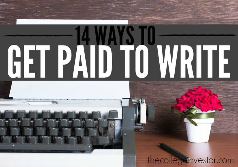 Interested in turning your words into dollars? Here are fourteen lucrative ways you can get paid to write. There are so many good ideas on this list!
