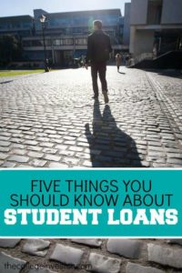 Will your student loans affect your credit score? Find out the real answer as well as four other student loan myths.