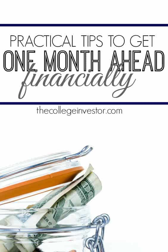 How to Get One Month Ahead Financially