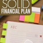 If you want to improve your finances take initiative and make a plan. Here are six elements of a solid personal financial plan to get you started.