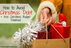 Do you want to avoid debt this Christmas? Here's a free Christmas budget worksheet that will help you plan a Christmas you can actually afford.