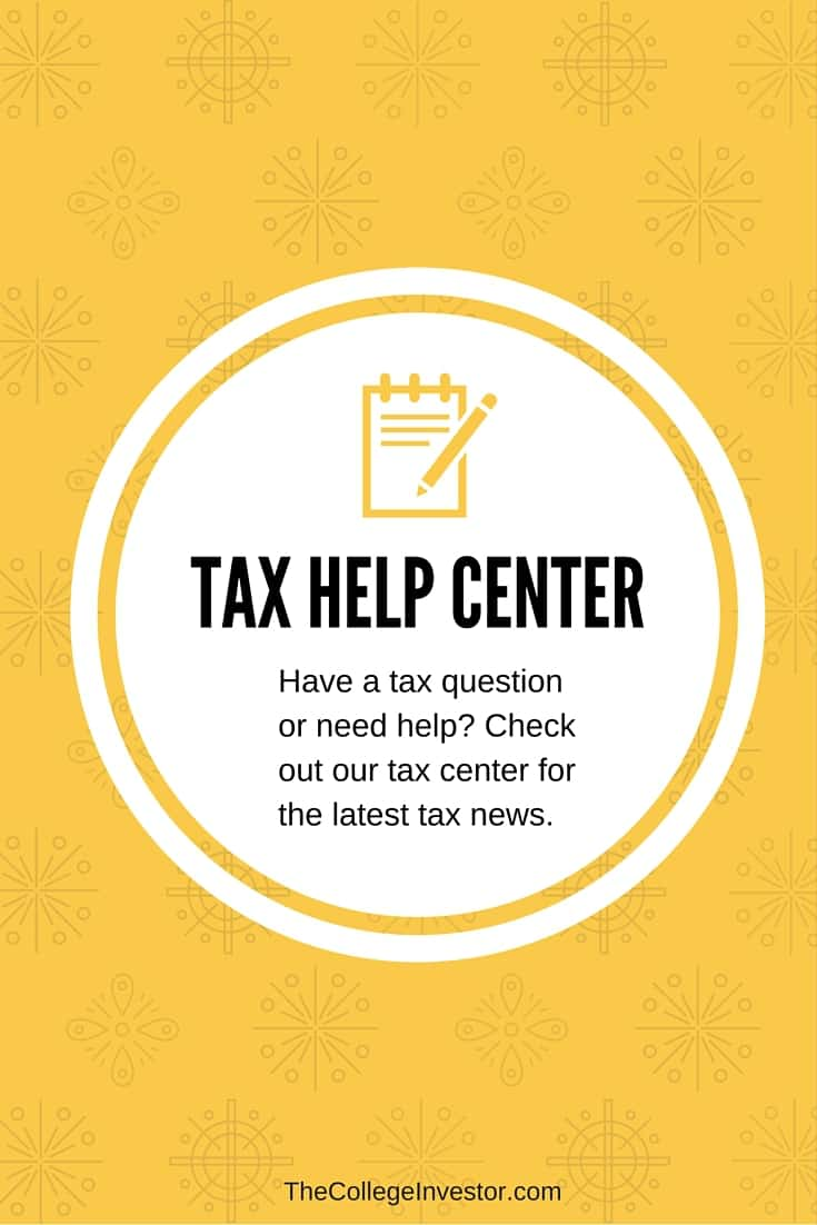 tax help center | the college investor